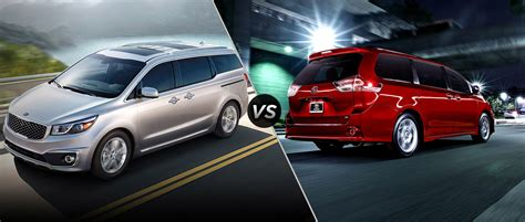 Kia Friends And Family Program 2016 Kia Sedona Vs 2016 Toyota