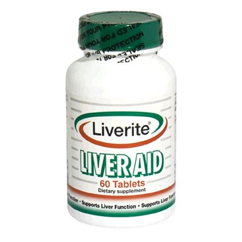 Best Liver Detox Tablets by Liverite Liver Aid Tablets 60 Tablets Desertcart