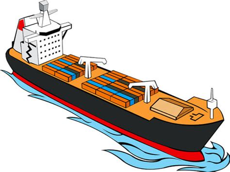 cargo boat clipart free vector cargo ships free vector download 636 free