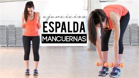 tabla de ejercicios con mancuernas 2015 para principiantes rutina de ejercicios para la espalda con mancuernas gym
