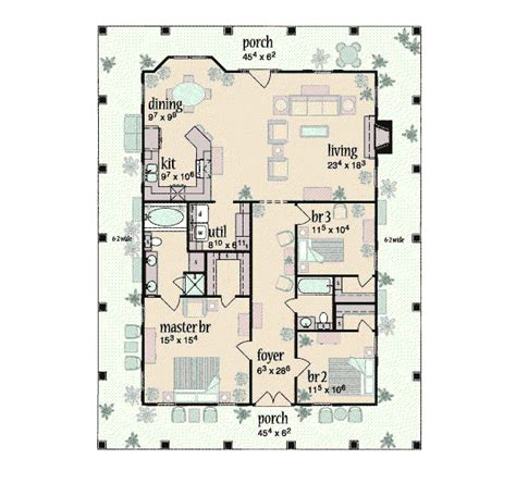 southern style house plan 3 beds 2 5 baths 2000 sq ft southern style house plan 3 beds 2 baths 1567 sq ft plan