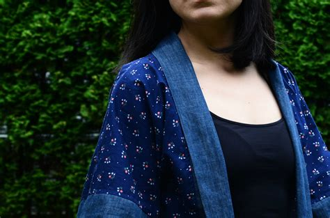 kimono pattern blog how to make an easy kimono top weallsew bernina usa s