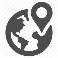 Search An Address On Earth Address Earth Globe Gps Location Marker Icon Icon Search Engine