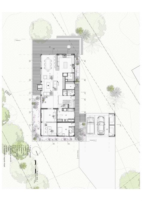 floor plan architecture gallery of bo house plan b arquitectos 21 house plans drawings and classroom