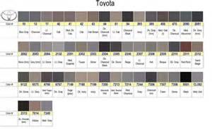3rd gen interior color code toyota 4runner forum