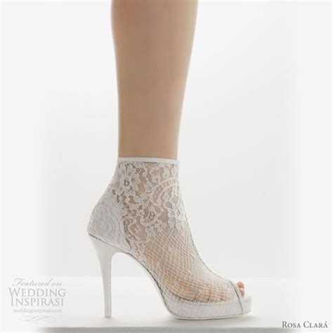 Wedding Shoe Boots by Shoe Alert Wedding Shoes Rosa Clara 2011 Wedding Theme