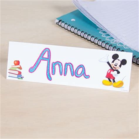 how to make name card mickey mouse classroom student name card disney family