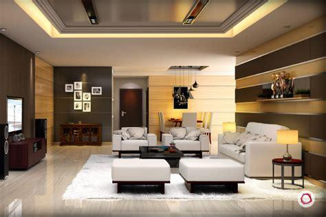Cozy Livingroom 6 false ceiling ideas for the fifth wall