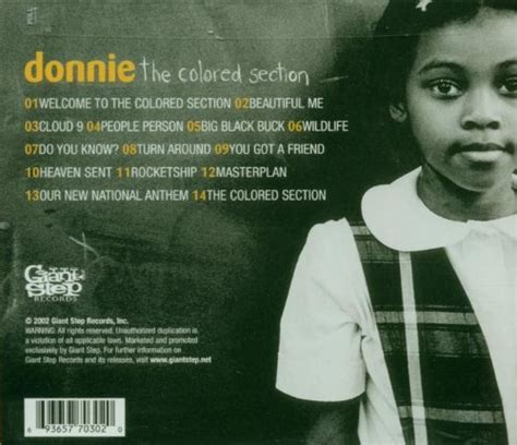 donnie the colored section classic album of the week 11 donnie the colored section