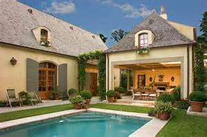Home Design Story Pool Our French Inspired Home French Style Landscaping Using