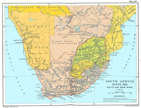 south africa map south africa history maps