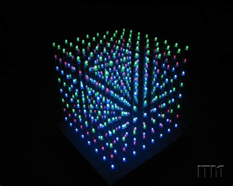 light shows what is an led cube computer network