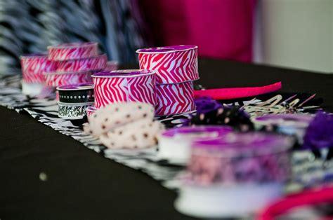 pink and zebra print daytime slumber party - Pink Leopard Krippe Bettwäsche