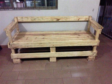 how to make a bench from pallets wood bench out of pallets 101 pallet ideas