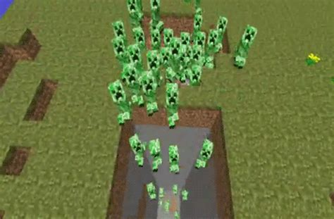 wallpaper gif minecraft video games creeper gif find share on giphy