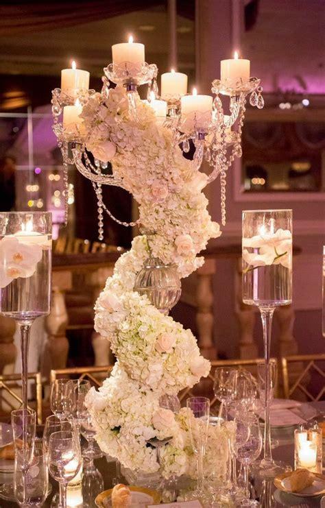 breathtaking  york wedding  ballroom glamour decor