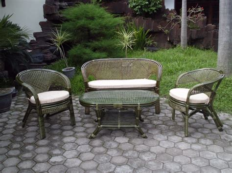 Furniture Elegant Wicker Patio Sets Family Patio Gray Wicker Patio Furniture