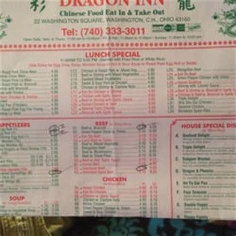dragon house menu dragon inn chinese washington ct house oh photos yelp