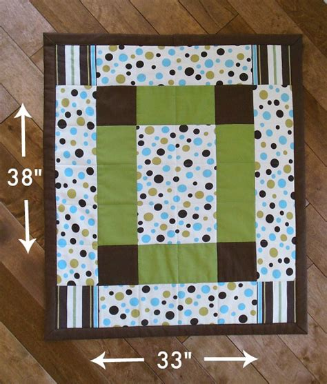 How To Make A Quilt Out Of Baby Clothes by How To Make A Baby Quilt So Sew Easy