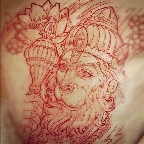 hanuman tattoo 56 best images about hanuman on hindus