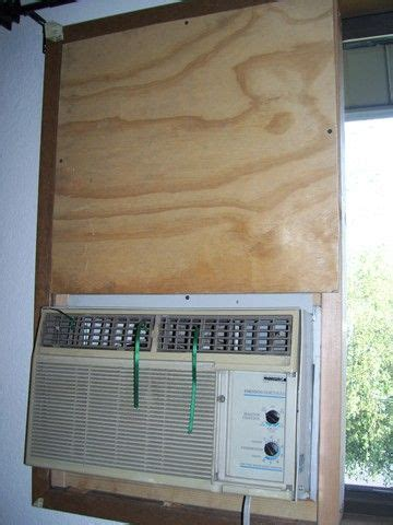 ac for room without windows mounting a standard air conditioner in a sliding window from the inside without a bracket 6