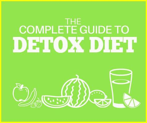 Complete Detox Diet by The Complete Guide To Detox Diet
