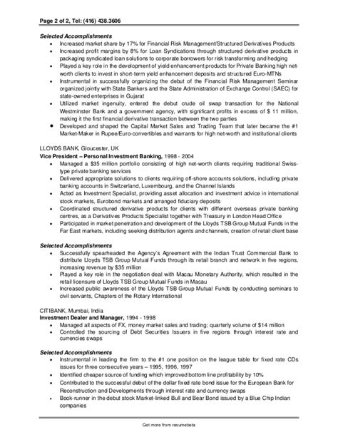 Banking Analyst Sle Resume by Sle Investment Banking Analyst Resume 28 Images Investment Banking Internship Resume 28