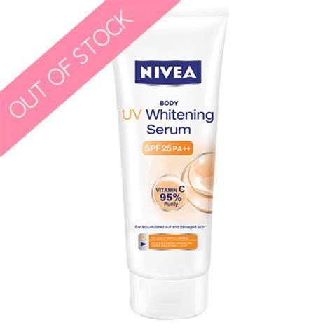 Wajah Nivea Uv Whitening nivea uv whitening serum spf 25