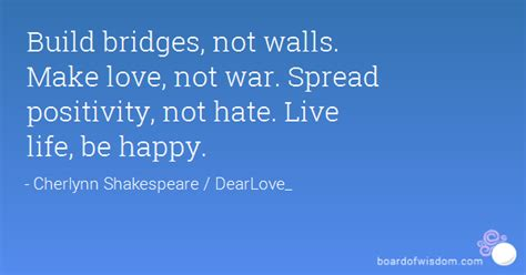 images of love not hate spread love not hate quotes quotesgram