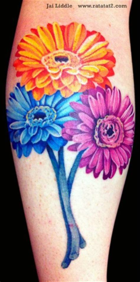 gerbera tattoo designs 92 best images about tattoos on inspiring