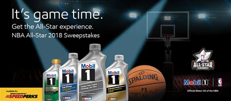 Nba All Star Sweepstakes - mobil oil coupons rebates and offers mobil motor oils