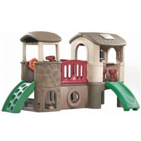 step 2 play structure with slide step 2 clubhouse climber play structure and