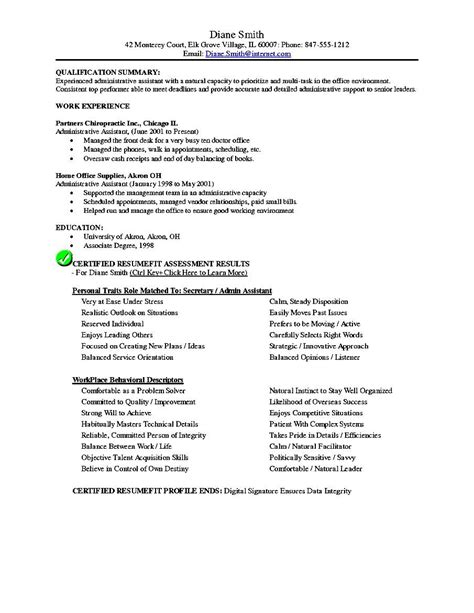 executive assistant resume templates free executive assistant resume template free sles exles format resume curruculum vitae