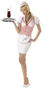Soda shop sweetie adult costume california costume collections product