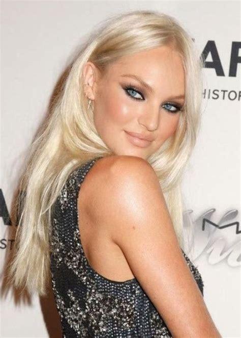 platinum the white hot hair color of 2014 fox news magazine victoria s secret model candice swanepoel looks stunning