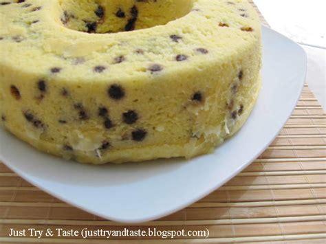 cara membuat kue bolu tape kukus pin tape singkong cake on pinterest