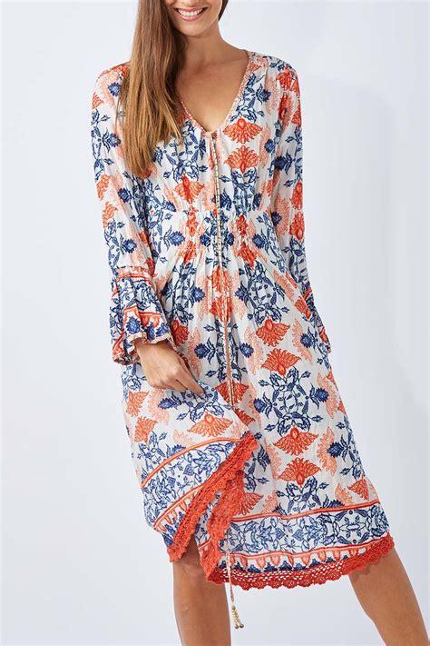 Dress Flora Batik Bahan new ruby yaya womens knee length dresses batik floral dress