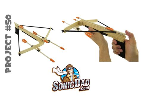 free make a crossbow at home sonicdad project