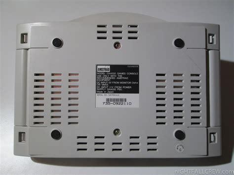 amstrad console repairing console amstrad gx4000 nightfall