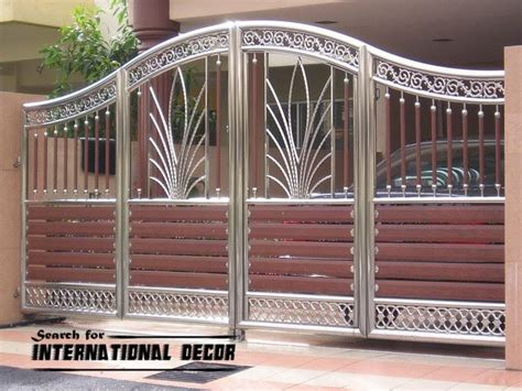 garage gate designs modern sliding iron gate designs uk sliding iron gates