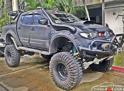mitsubishi triton offroad 1000 images about l200 on pinterest satin trucks and flare
