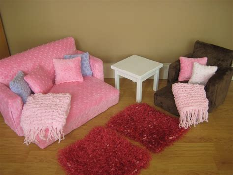 american girl doll couch 18 inch doll furniture for american girl doll by solarwood7222
