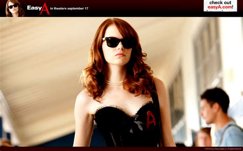 emma stone film romantic romantic comedy images easy a hd wallpaper and background