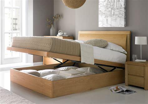 Lift Up Storage Bed Oak by Arran Oak Ottoman Storage Bed Oak Beds Wooden Beds Beds
