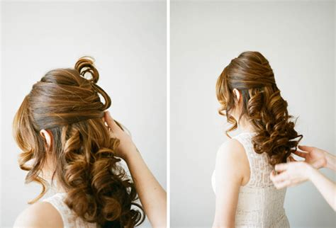 3 style wedding hair diy tutorial