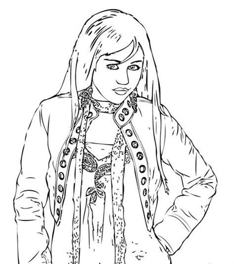 High School Musical Coloring Pages Team Colors High School Coloring Pages