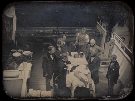 une photographie de la premi 232 re anesth 233 sie g 233 n 233 rale en 1846