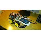 Robot 4&2154 Controlado Con Un Movil Android A Traves De