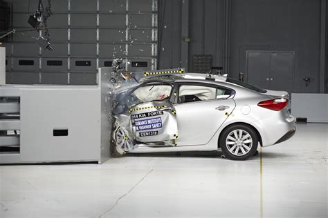 Kia Test Answers Which Small Cars Are Safest New Iihs Test Helps Answer That