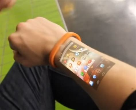 new technology could turn your skin into a touch screen cicret wearable aims to turn your skin into your tablet